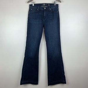 7 For All Mankind Dojo Flare Jeans 30 A3512